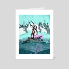 Capricorn - Fantasy - 2020 - Art Card by Josh Murano