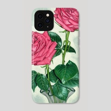 Roses  - Phone Case by Aurelia Chaintreuil