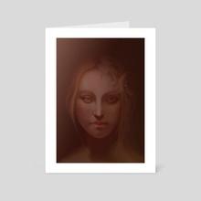 Portrait - Art Card by Sonya Anastasova