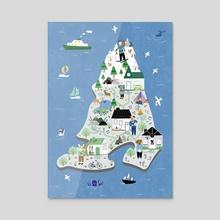 ANNG Island - Acrylic by ANNG LEIS