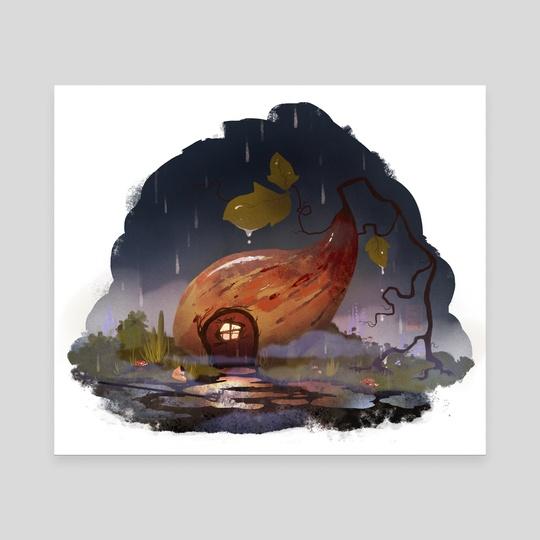 Home Sweet Gourd by Madeline Haynes