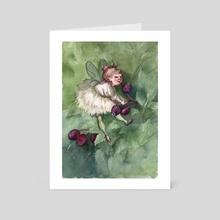 Fidelia - Art Card by Manelle Oliphant