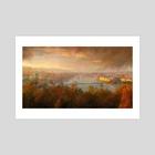 View of Budapest - Art Print by Remus Brailoiu