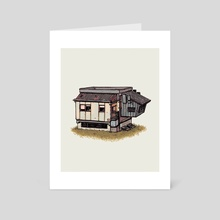 Compact Living - Art Card by Tyto Alba
