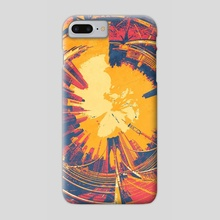 Inverse City - Phone Case by Justin Bruss