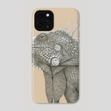 Iguana Have Fun - Phone Case by Cora Speidel