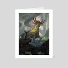 Auspicious Starrix - Art Card by Lucas Graciano