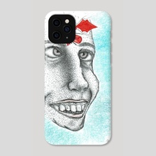 At least I still feel something / Ghost Town - Phone Case by Theo Stephani