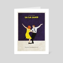 La La Land - Art Card by Deniz Akerman
