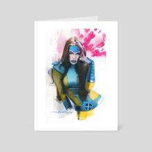 Jean Grey - Art Card by Jeff Dekal