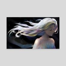 Frozen Elsa - Canvas by Rainy Ri3