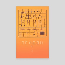 BEACON Box Art - Canvas by Monothetic LLC