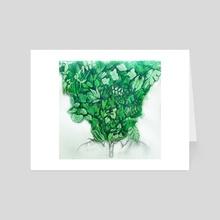 Overgrown - Art Card by MagiCarp