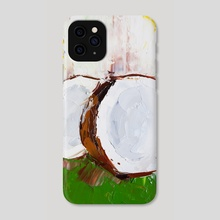 Castle Full of Coconuts - Phone Case by Eric Buchmann