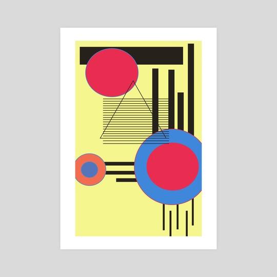 Bauhaus Vibez  by Natasha  Polo