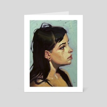 Loops - Art Card by John Larriva