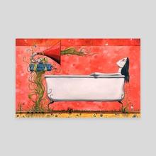 A Little Music - Canvas by Rich Brouillet