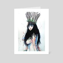 Forest Queen - Art Card by AJ Larkin