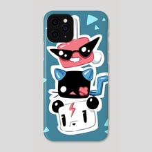 Trio - Phone Case by Indré Bankauskaité