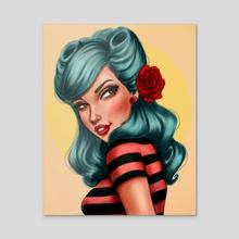 Natasha - Acrylic by Crystal Wall Lancaster