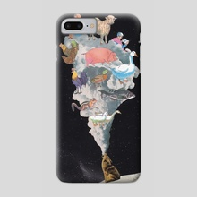 Big Bad Wolf - Phone Case by Lerson