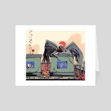You Will Move On - Art Card by sarah rain