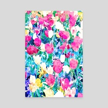 Meadow in Bloom  - Canvas by 83 Oranges