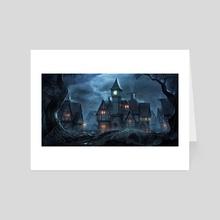 Sleepy Hollow - Art Card by Richard Benning