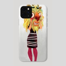 Anxiety Beast - Phone Case by Simini Blocker