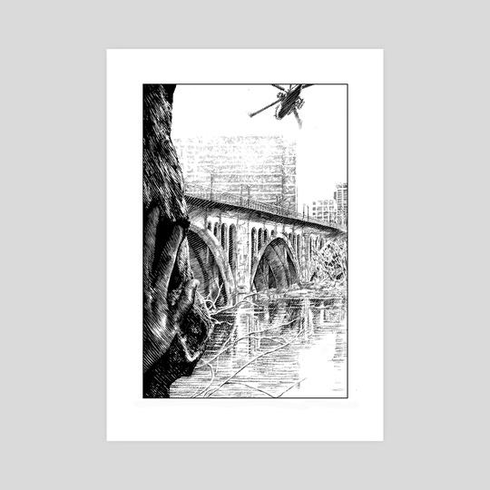 The Key Bridge by Dan Henk