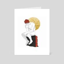 illusion - Art Card by Laurène Ruimy