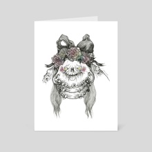 Flora - Art Card by Courtney Archer