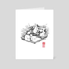 Kampai - Inktober 2019 - Art Card by Will Murai