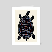 Turtle Love - Art Card by Joseph Patton