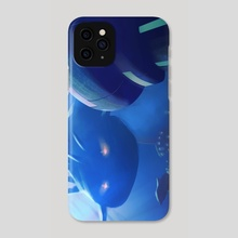 Researching mythic oceans - Phone Case by Elias Neophytou