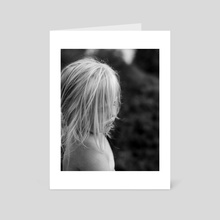 Blonde - Art Card by Sjoerd Spendel