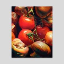 Tomato Demo - Canvas by Martha Wirkijowski