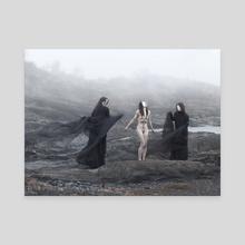 Thrjar - Canvas by Daria Endresen