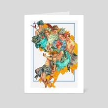 BTS Goods AU - Art Card by Filli Noctis