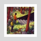 In the Woods - Art Print by Anita Tung
