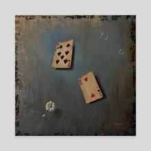 Love Games - Canvas by Svetoslav Stoyanov
