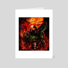 doom eternal - Art Card by Maxim G