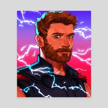 Thor - Canvas by S