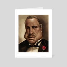 Don Vito Corleone - Art Card by Rafael Rivera