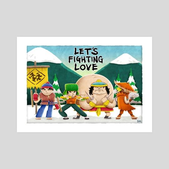 Let's Fighting Love by Charlie Bink
