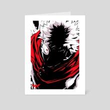 ITADORI YUJI  - Art Card by BatmAndrew