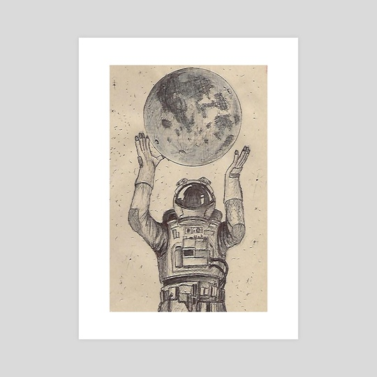 dreams of an astronaut by Dwin Graphics