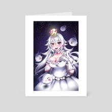 Booette Princess Boo - Art Card by Rach