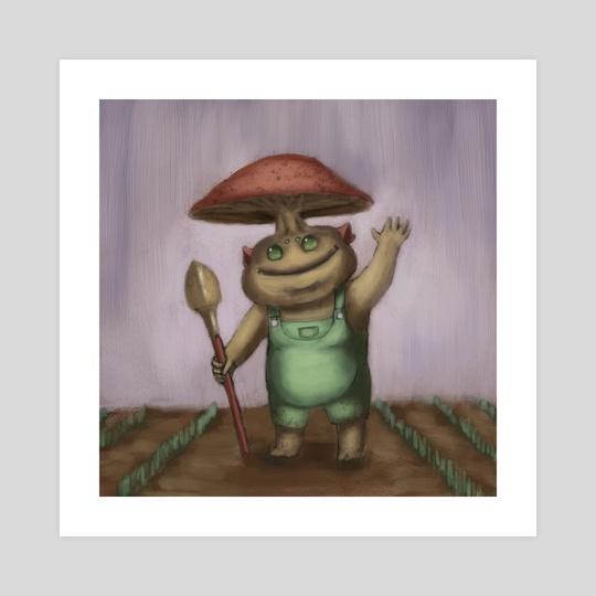 Mushroom Man by Colby Richards