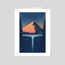 Mountain - Art Card by Geoff Tice